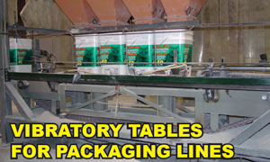 Tables for Packaging Lines