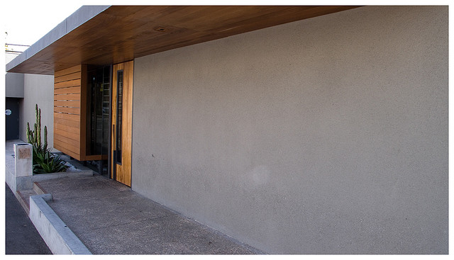 smooth concrete wall finish